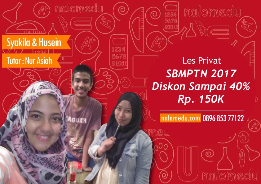 Les Privat SBMPTN di Jakarta dan Depok